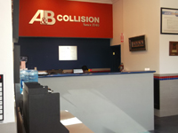 A & B Collision Center office
